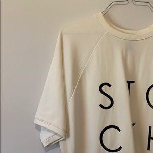 Forever21 Women's Stockholm Slit Pocket Shirt